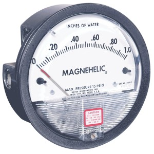 MAGNEHELIC® DIFFERENTIAL PRESSURE GAGES